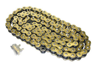 428 X 132 Link Gold O-RING Chain Dirt Bike Motorcycle