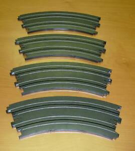 AFX-HO-SLOT-CAR-12-INCH-1-8-CURVE-TRACKS-NEW-A19