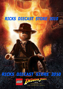 Lego Indiana Jones Crystal Skull Shop Sign Poster