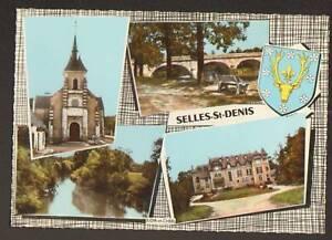 SELLES-SAINT-DENIS-EGLISE-PONT-MANOIR-BLASON-Cerf