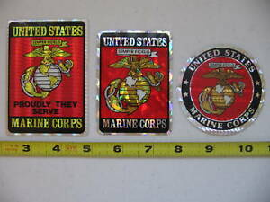 Lot-of-3-United-States-Marine-Corps-Military-Stickers