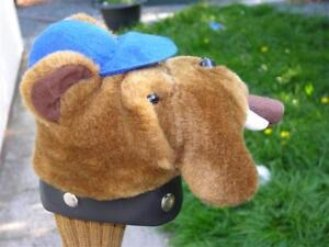 Novelty-Animal-Golf-Club-Wood-Driver-Headcover-BULLDOG