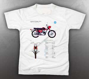 vintage yamaha yds 3 shirt like nos