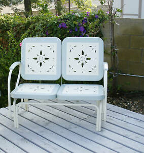 Outdoor Furniture Patio Vintage Style Porch Glider Ebay
