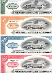 GENERAL MOTORS LOT! 12 DIFF ORIGINALS/REPRINTS @ $3.99! TREASURE TROVE GM HIST!!