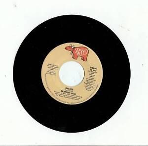 Frankie Valli Quot Grease Quot 45 Rpm Record Original