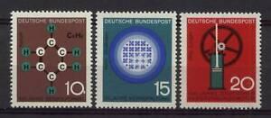 West-Germany-1964-SG-1345-7-Scientific-Anniv-MNH-Set