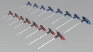 'Power' creux pans Sealey six hexagonale Tools Clé Allen à PPCq8Hw0