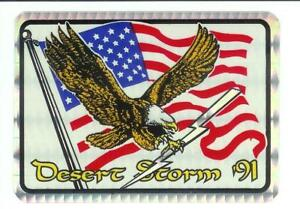 Desert-Storm-U-S-Military-Vintage-Sticker-Decal-Rare-2