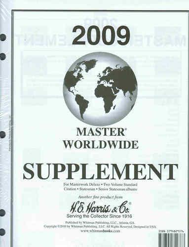 2009 H.e. Harris Master Worldwide Album Supplement