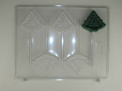 Tree Ornate Lollipop Christmas Chocolate Candy Mold Molds Party