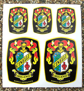 Cinelli-Crest-Vintage-Cycle-Bike-Frame-Decals-Stickers