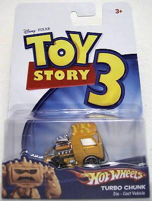 Turbo Chunk Disney Toy Story 3 Hot Wheels Die Cast Vehicle 2009