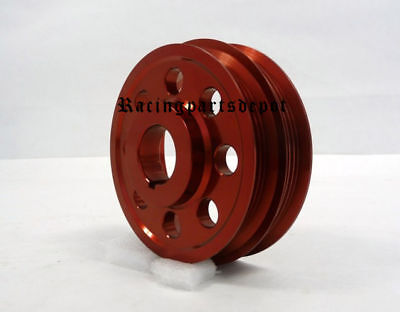 OBX UNDERDRIVE CRANK PULLEY RED 97 01 Mirage 18L All