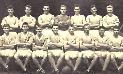 BLACKPOOL FOOTBALL TEAM PHOTO 1961-62 SEASON