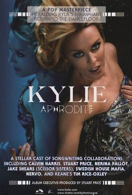 Kylie Minogue poster - Aphrodite - promotional poster # 2 - 11 x 17 inches