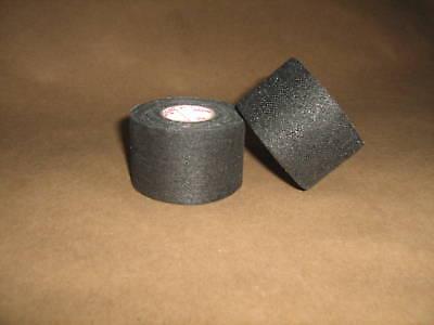 """2 Rolls of Black Hockey Gauze Grip Tape Pro Quality 1.5"""" x 30'"""