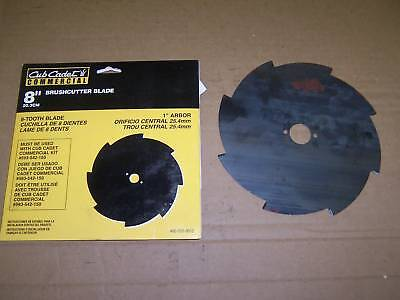 Cub Cadet 8 Tooth Saw Blade 8 Inch With 1 Inch Hole
