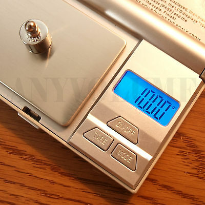 200g X 0.01g Precision Digital Pocket Scale Sf-200 For Gold Jewelry Reload