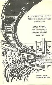 1964-Jose-Greco-His-Company-of-Spanish-Dancers-prgm
