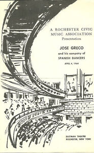 1964-Jose-Greco-amp-His-Company-of-Spanish-Dancers-prgm