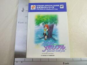 TOKIMEKI-MEMORIAL-Official-Forever-with-You-Game-Guide-Book-Sega-Saturn-NT304