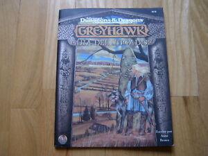 Advanced-Dungeons-amp-Dragons-GREYHAWK-Guia-del-Jugador-TSR-MR-juego-rol