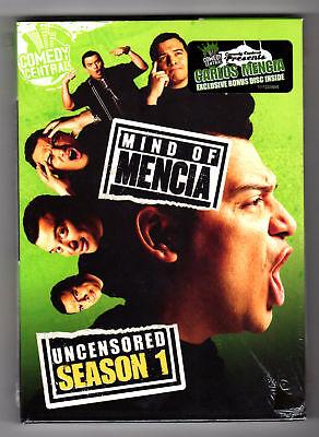 Mind Of Mencia - Uncensored Season 1 (dvd Carlos Mencia