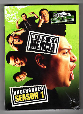 Mind Of Mencia - Uncensored Season 1 (dvd Carlos Mencia