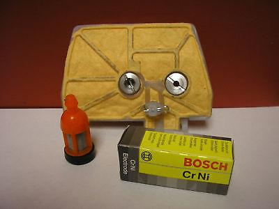 Tune Up Kit Fits Stihl 038, 038av, 038 Super 038 Magnum,air & Fuel Filter & Plug