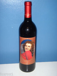 Norma-Jeane-1999-2nd-Second-Vintage-Marilyn-Monroe-California-Merlot-Wine