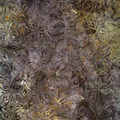 Timeless Treasures Tonga Bali Batik B5763 Flower Geo 1 Yard 28 Inches