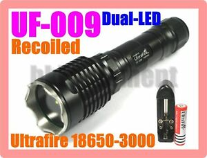 UF-009 Recoil Dual Cree Torch VSet