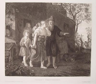 Philip de Koninck Amsterdam Rembrandt Hagar Barock Israel Sage Judäa Jude Jew