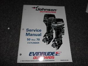 1995 johnson evinrude 50 hp thru 70 hp 3 cyl service shop. Black Bedroom Furniture Sets. Home Design Ideas