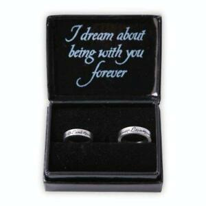 TWILIGHT-Lion-Lamb-Boxed-Jewellery-Pewter-Ring-Set-NECA-NEW