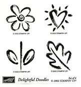 Stampin Up Delightful Doodles