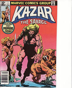 KAZAR-THE-SAVAGE-1-Marvel-1981