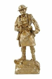 SCOTTISH SOLDIER WW1 BRONZE FIGURE 11 inches High