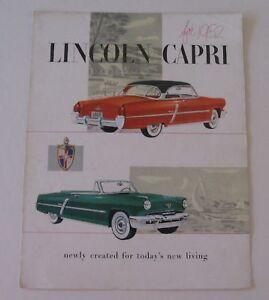 Showroom-Brochure-For-The-1952-Lincoln-Capri