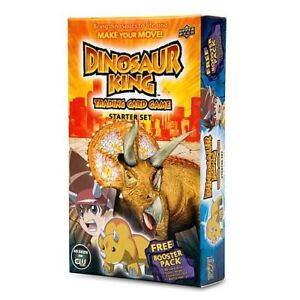 ★ DINOSAUR KING - Trading Card Game Starter Deck #NEW