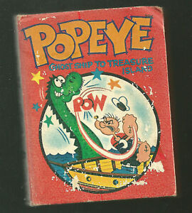 1967 BLB Popeye Color px sure Island Big Little Book