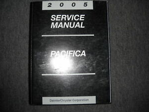 2005 chrysler pacifica service shop repair manual oem dealership rh ebay com 2005 Pacifica Problems 2005 chrysler pacifica touring repair manual