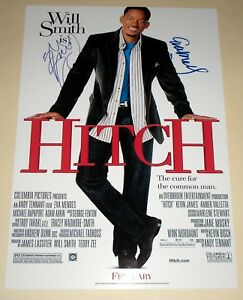 HITCH-CAST-X2-PP-SIGNED-12-X8-POSTER-WILL-SMITH
