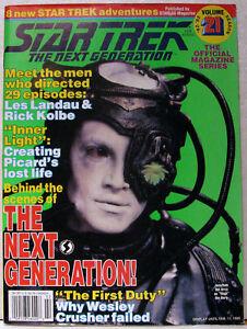 Vintage-STAR-TREK-The-Next-Generation-Magazine-BORG-21-1992-RARE