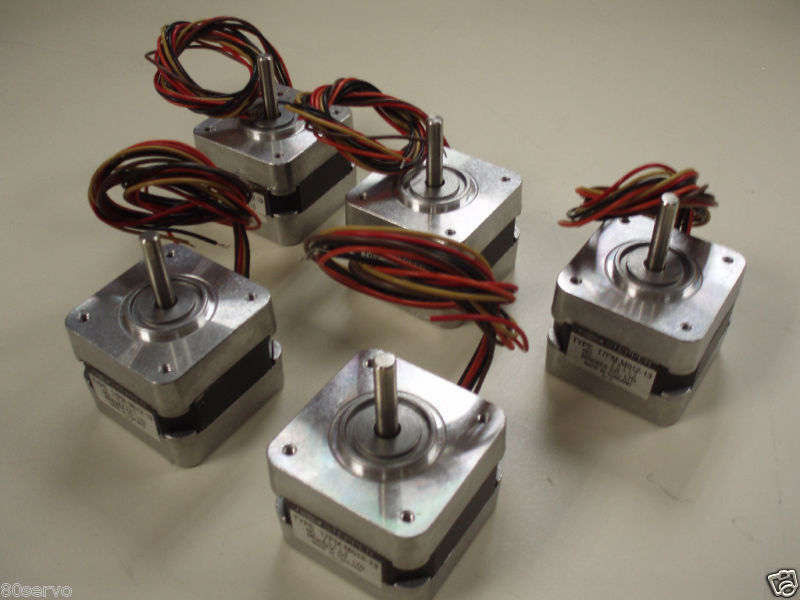 Minebea Step Stepper Motor 17pm M012 13 Lot Of 5 Ebay