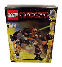 Lego Exo-Force  8101 Claw Crusher nuovo Sealed HTF  ti renderà soddisfatto