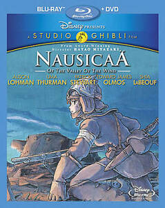 Nausicaa-of-the-Valley-of-the-Wind-Blu-ray-DVD-2011-2-Disc-Set-NEW