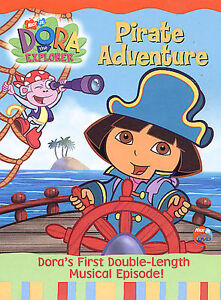Dora-the-Explorer-Pirate-Adventure-DVD-2004-Disc-Only