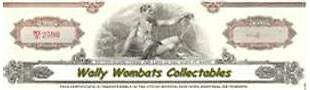Wally Wombats Collectables